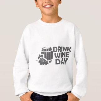 Eighteenth February - Drink Wine Day Sweatshirt