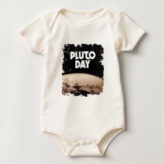 Eighteenth February - Pluto Day - Appreciation Day Baby Bodysuit