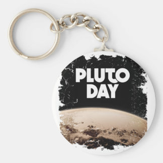 Eighteenth February - Pluto Day - Appreciation Day Basic Round Button Keychain