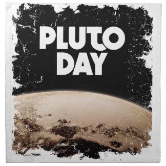 Eighteenth February - Pluto Day - Appreciation Day Napkin