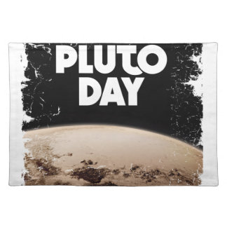 Eighteenth February - Pluto Day - Appreciation Day Placemat
