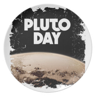 Eighteenth February - Pluto Day - Appreciation Day Plate