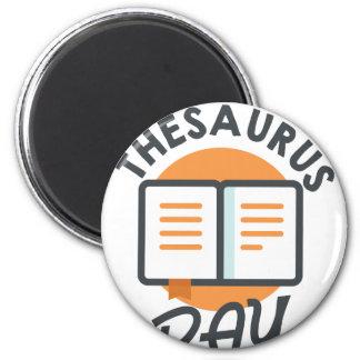 Eighteenth January - Thesaurus Day Magnet