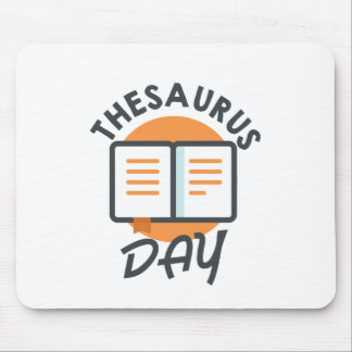 Eighteenth January - Thesaurus Day Mouse Pad
