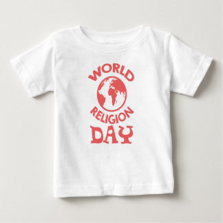 Eighteenth January - World Religion Day Baby T-Shirt