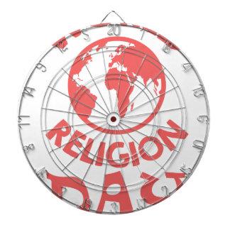 Eighteenth January - World Religion Day Dartboard