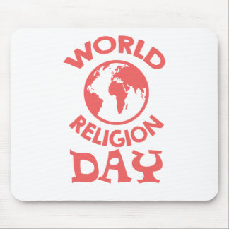 Eighteenth January - World Religion Day Mouse Pad