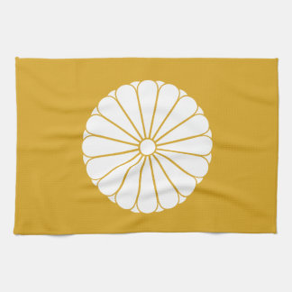 Eightfold 16 chrysanthemum hand towels