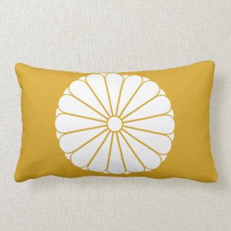 Eightfold 16 chrysanthemum lumbar pillow