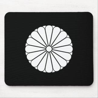 Eightfold 16 chrysanthemum mouse pad