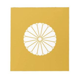 Eightfold 16 chrysanthemum notepad