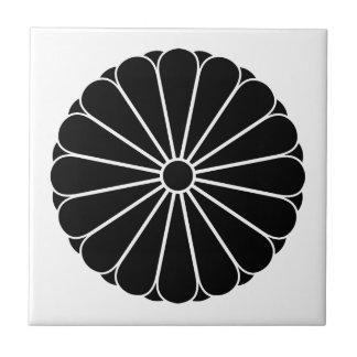 Eightfold 16 chrysanthemum tiles