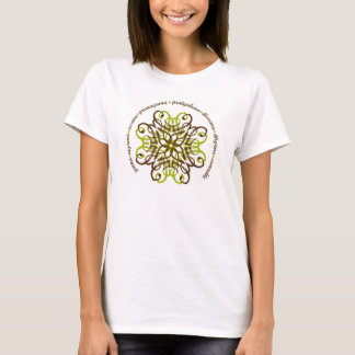 Eightfold Path Ladies Fitted T-shirt