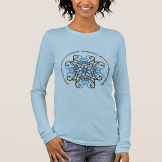 Eightfold Path Long Sleeve Fitted T-shirt