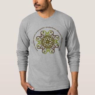 Eightfold Path Men's Grey Long Sleeve T-shirt