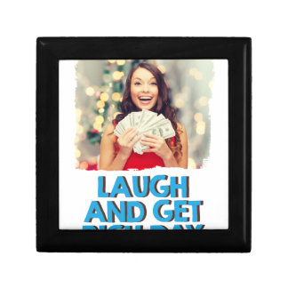 Eighth February - Laugh And Get Rich Day Gift Box