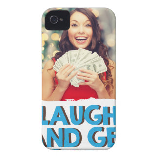Eighth February - Laugh And Get Rich Day iPhone 4 Cover