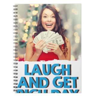 Eighth February - Laugh And Get Rich Day Notebooks