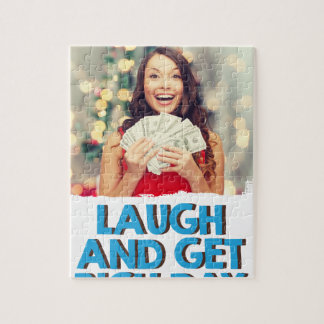Eighth February - Laugh And Get Rich Day Puzzle