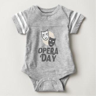 Eighth February - Opera Day - Appreciation Day Baby Bodysuit