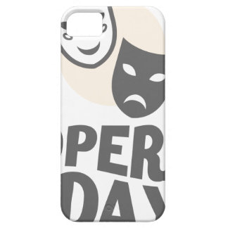 Eighth February - Opera Day - Appreciation Day iPhone 5 Cover
