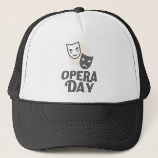 Eighth February - Opera Day - Appreciation Day Trucker Hat