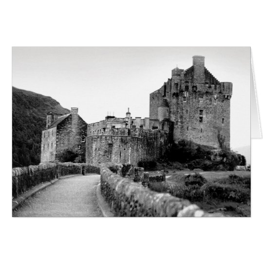 Eilan Donan Castle Card