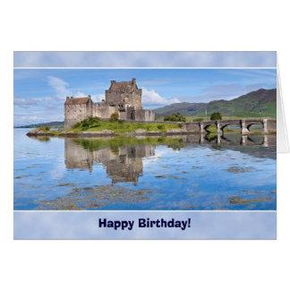 Eilean Donan Castle Birthday Card