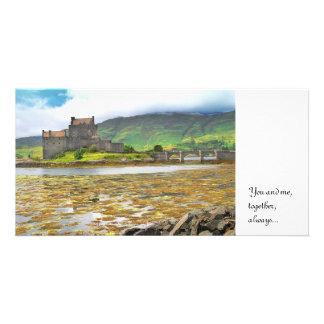 Eilean Donan Castle colour, Card