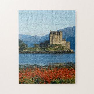 Eilean Donan Castle, Highlands, Scotland 3 Jigsaw Puzzle