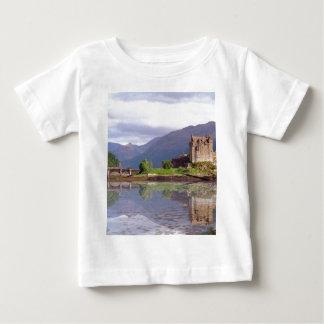 Eilean Donan castle reflection Baby T-Shirt