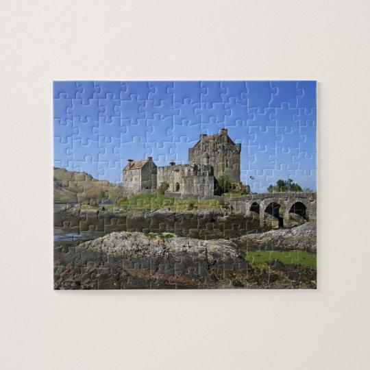 Eilean Donan Castle, Scotland. The famous Eilean 2 Jigsaw Puzzle