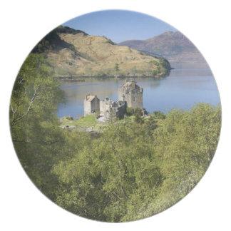 Eilean Donan Castle, Scotland. The famous Eilean Plate