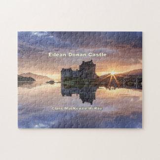 Eilean Donan – MacKenzie/MacRae Clans Jigsaw Puzzle