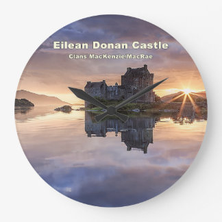 Eilean Donan – MacKenzie/MacRae Clocks