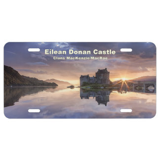 Eilean Donan – MacKenzie/MacRae License Plate