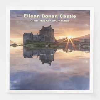 Eilean Donan – MacKenzie/MacRae Paper Napkins