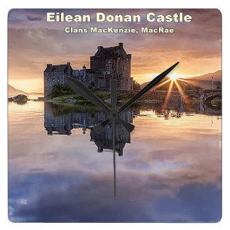 Eilean Donan – MacKenzie/MacRae Wallclocks