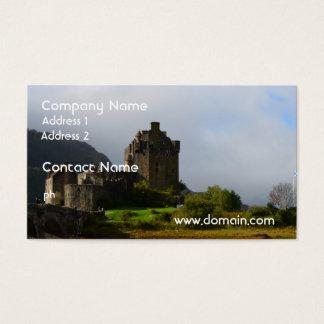 Eileen Donan Castle in Early Autumn Business Card