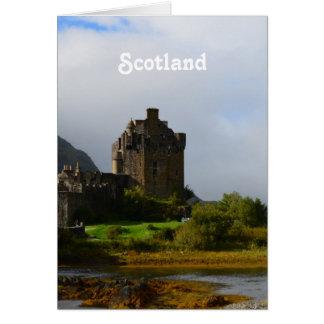 Eileen Donan Castle in Early Autumn Card