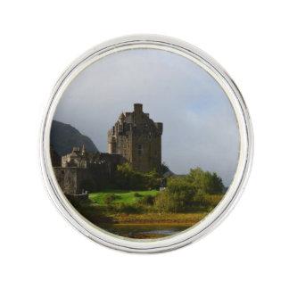 Eileen Donan Castle in Early Autumn Lapel Pin