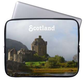 Eileen Donan Castle in Early Autumn Laptop Sleeve