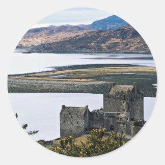 Eileen Donan Castle, Loch Duich, Scotland Classic Round Sticker