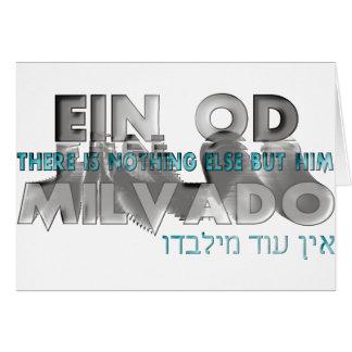Ein Od Milvado Note Card