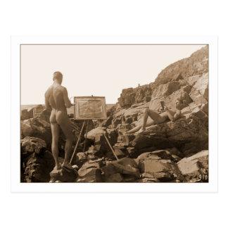 Einar Bager Swedish Painter Postcard