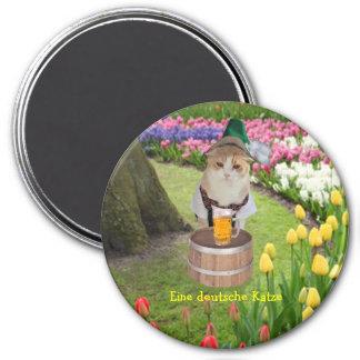 Eine deutsche Katze Magnet