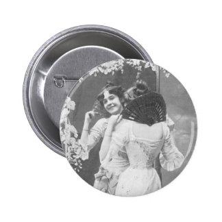 Eine Kokette Button