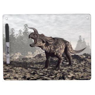 Einiosaurus dinosaur - 3D render Dry Erase Board With Keychain Holder