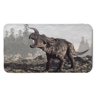 Einiosaurus dinosaur - 3D render Phone Pouch