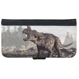 Einiosaurus dinosaur - 3D render iPhone 6 Wallet Case